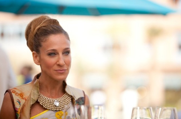 Sarah Jessica Parker in un'immagine del film Sex and the City 2