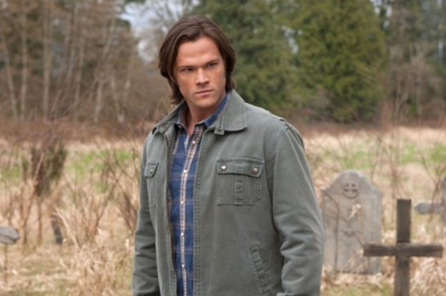 Supernatural: Jared Padalecki in una scena dell'episodio Swan Song