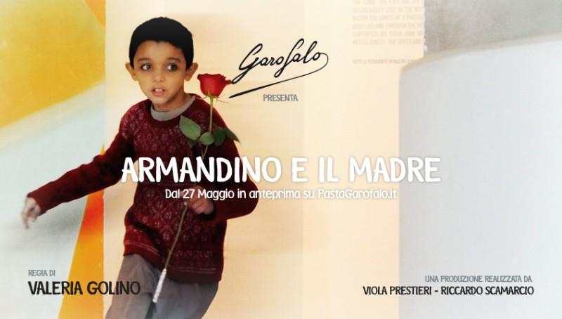 Un'immagine promozionale del corto Armandino e il Madre