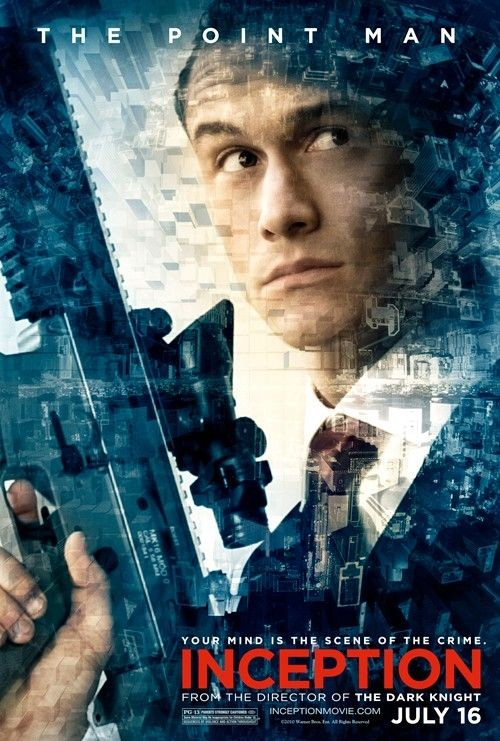 Character poster per Inception: Joseph Gordon-Levitt