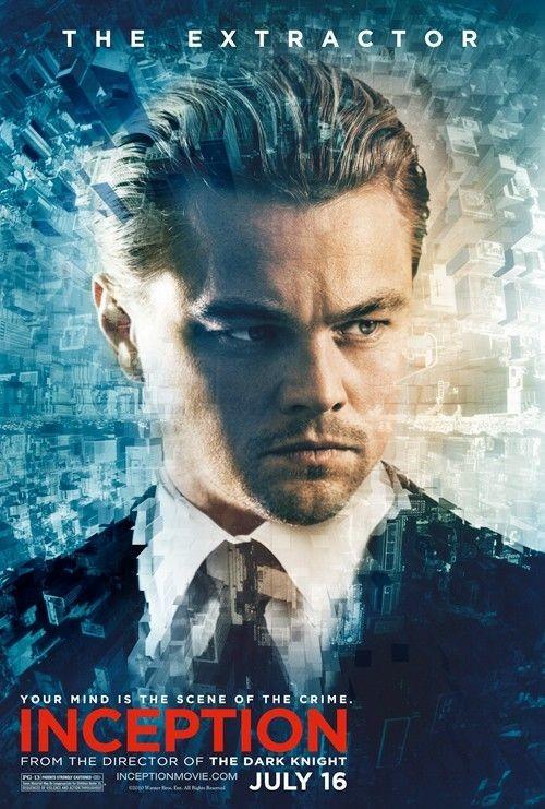 Character poster per Inception: Leonardo Di Caprio