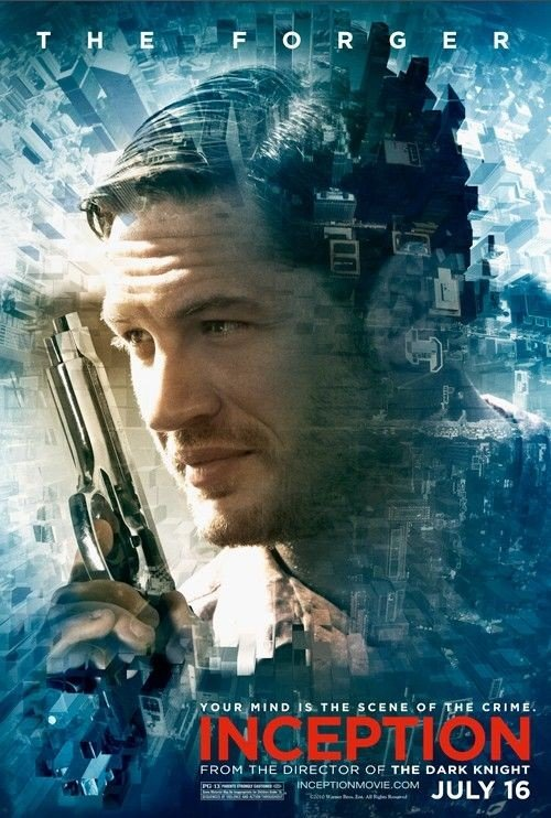 Character poster per Inception: Tom Hardy