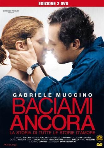 La copertina di Baciami ancora (dvd)