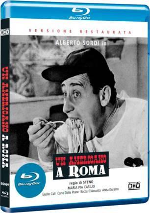 La copertina di Un americano a Roma (blu-ray)