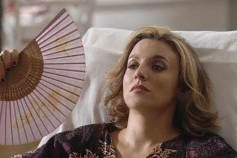 Michela Cescon in una scena del film Il compleanno