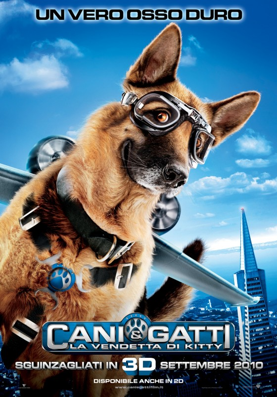 Character Poster italiano (Cane) del film Cats & Dogs: The Revenge of Kitty Galore