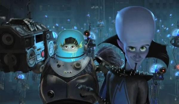I cattivi Titan e Megamind nel film Megamind