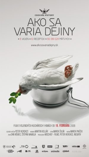 La locandina di Cooking History