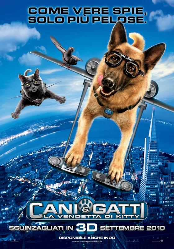 Locandina italiana del film Cats & Dogs: The Revenge of Kitty Galore