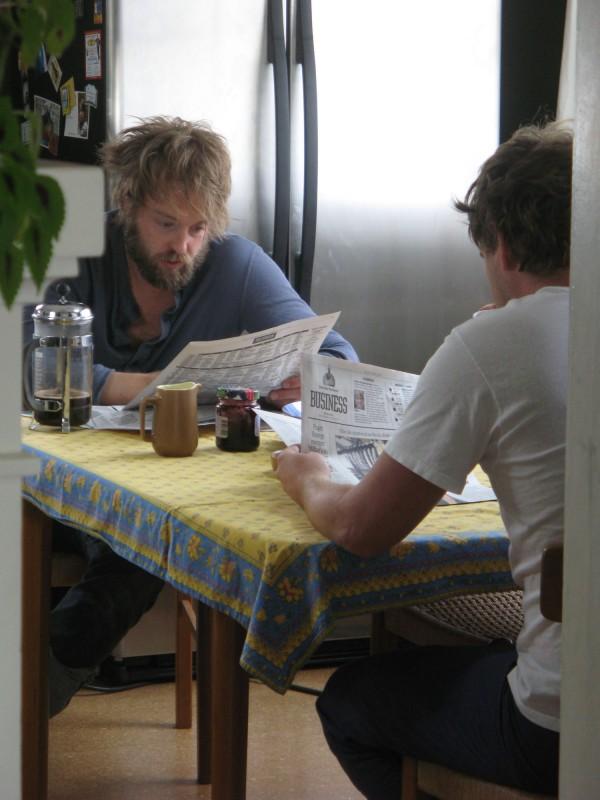 Mark Duplass e Joshua Leonard nel film Humpday