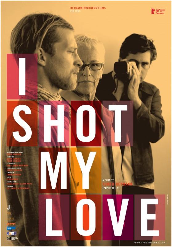 Poster giallo per I Shot My Love