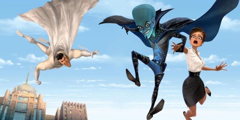 Una delle prime immagini del film Megamind