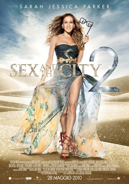 Locandina italiana di Sex and the City 2