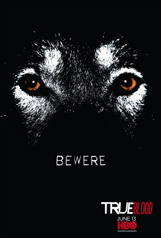 Teaser Poster 'Bewere' della Stagione 3 di True Blood