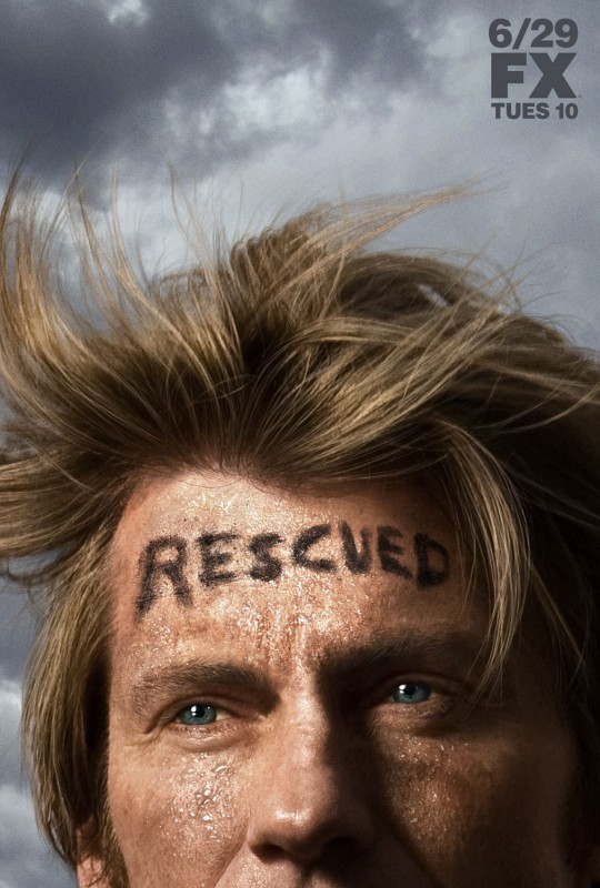 Un poster della stagione 6 di Rescue Me