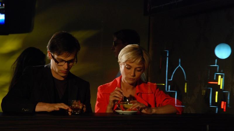 Camilla Ferranti con Antonio Ianniello in una scena di Alice