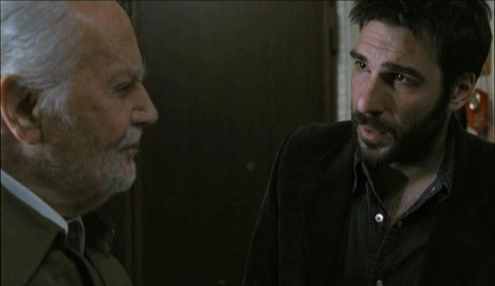 Gabriele Ferzetti ed Edoardo Leo nel film 18 anni dopo