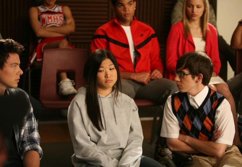 Glee: Jenna Ushkowitz nell'episodio Theatricality