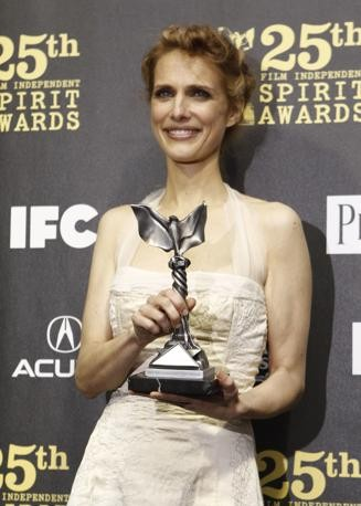 Lynn Shelton con il premio John Cassavetes per il film Humpday all'Independent Spirit Awards 2010