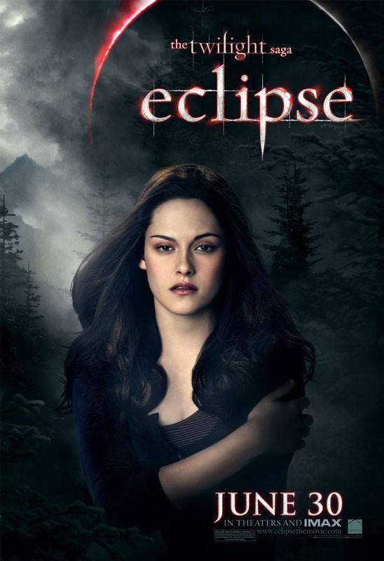 Un character poster di Bella (Kristen Stewart) per il film The Twilight Saga: Eclipse