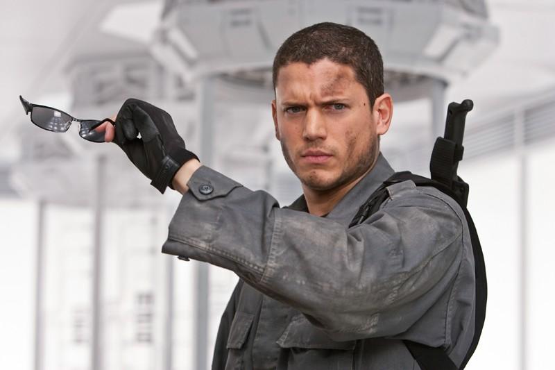 Wentworth Miller è Chris Redfield nel film Resident Evil: Afterlife