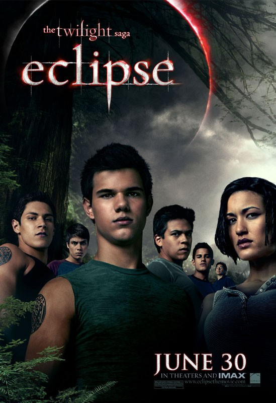 Poster del film The Twilight Saga: Eclipse con il branco