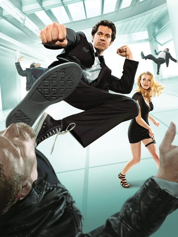 L'immagine promo utilizzata per il poster della terza stagione di Chuck