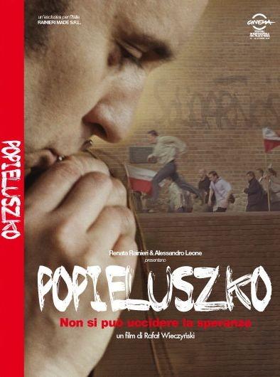 La copertina di Popieluszko (dvd)