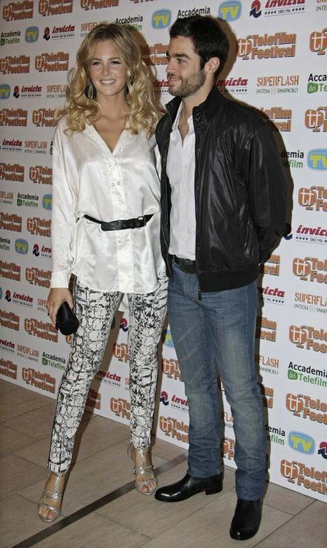 Liz Solari e Tomas De Las Heras al photocall del Telefilm Festival 2010