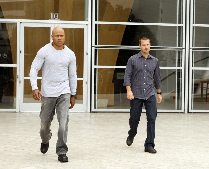 LL Cool J e Chris O'Donnell in missione nell'episodio Found di NCIS: Los Angeles