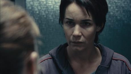 Anne Coesens in un primo piano dal film Illegal