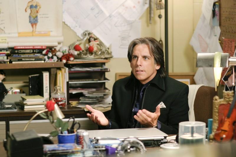 Ben Stiller in un'immagine del film Un microfono per due
