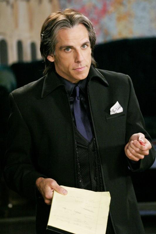 Ben Stiller nel film Un microfono per due