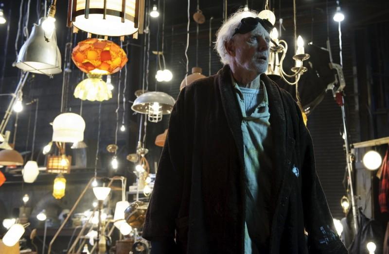 Bruce Dern in una scena del film The Hole in 3D
