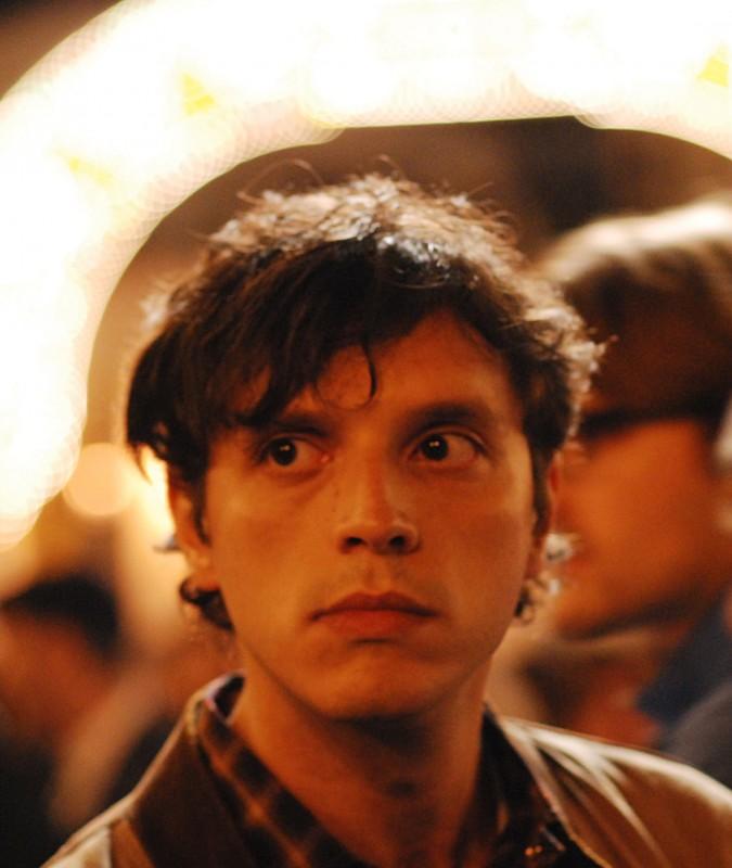 Carmelo Galati sul set del film La siciliana ribelle