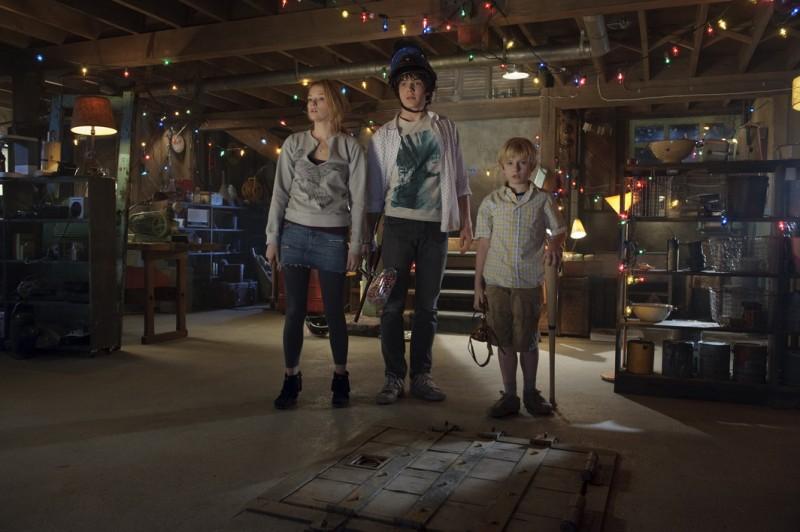Haley Bennett, Chris Massoglia e Nathan Gamble, protagonisti del film The Hole in 3D
