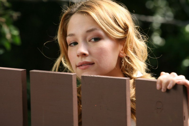 Haley Bennett in un'immagine del film The Hole in 3D