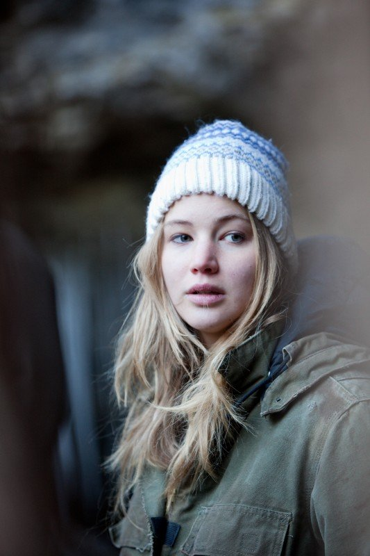 Jennifer Lawrence, protagonista del film Winter's Bone.