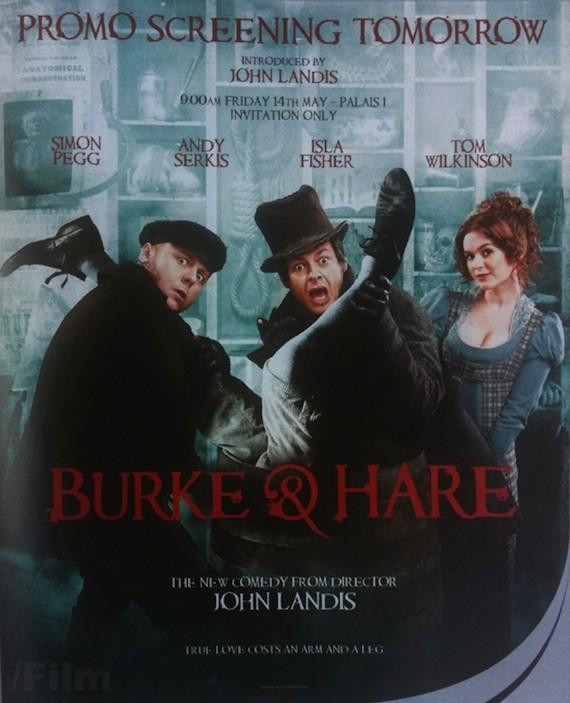 La locandina promozionale del film Burke and Hare - Ladri di cadavere