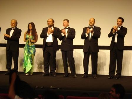 Tresy Taddei al Festival di Cannes 2008 con Sangue Pazzo
