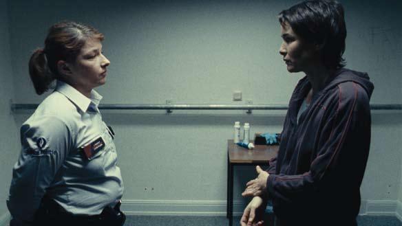 Un'immagine di Anne Coesens dal film Illegal