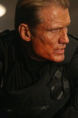 Un'immagine di Dolph Lundgren dal film Universal Soldier: Regeneration