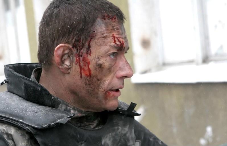 Un'immagine di Jean-Claude Van Damme dal film Universal Soldier: Regeneration
