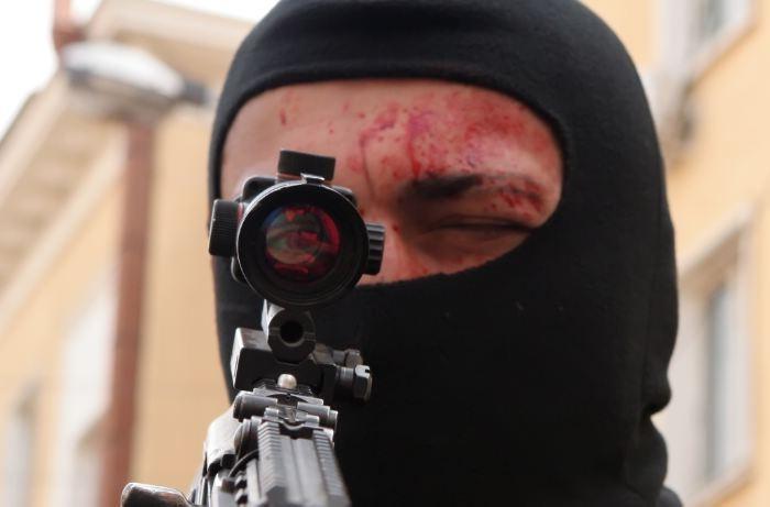 Un'immagine tratta dal film Universal Soldier: Regeneration
