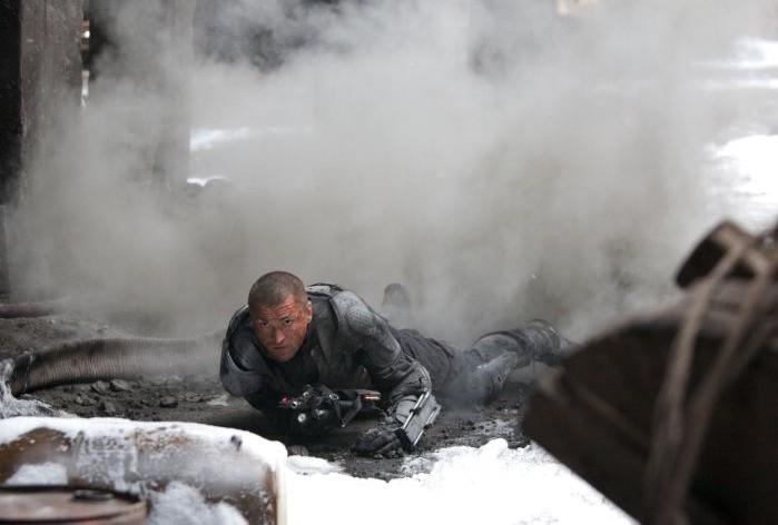 Una scena del film Universal Soldier: Regeneration