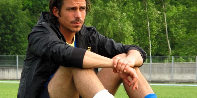 Gianluca Sacchi nel film Backward