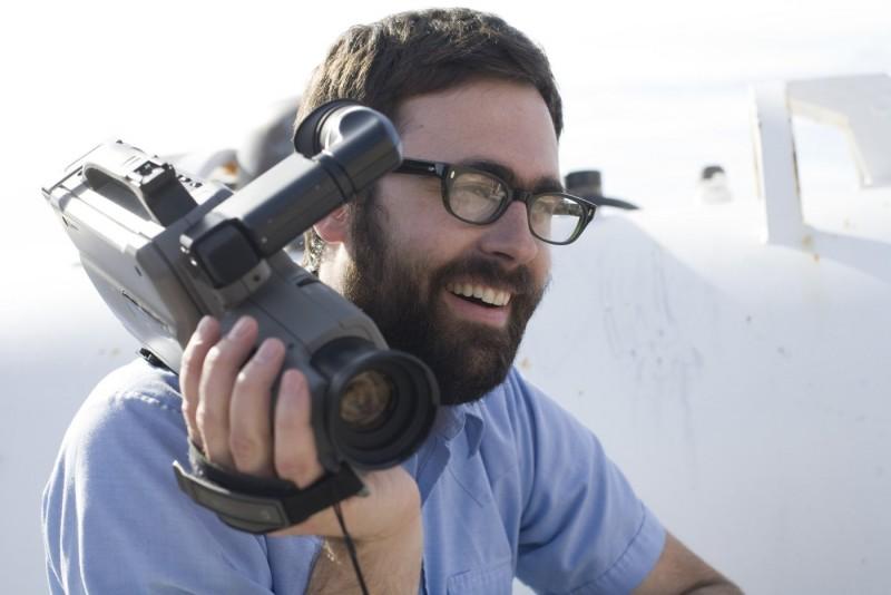 Il regista Jared Hess sul set del suo film Gentlemen Broncos