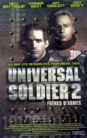 La locandina di Universal Soldier II: Brothers in Arms