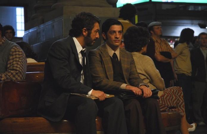 Ricardo Darín e Pablo Rago nel film Il segreto dei suoi occhi