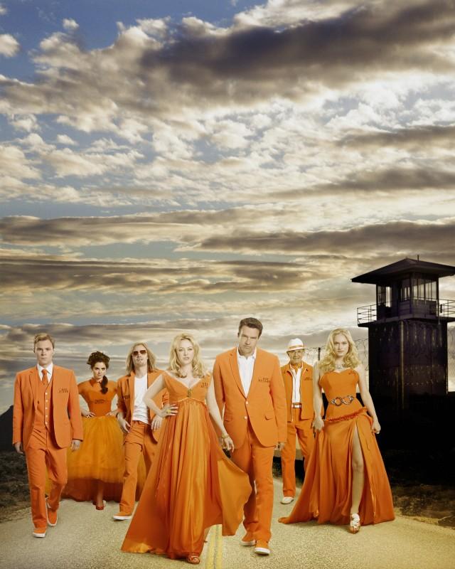 Il cast di Scoundrels in una foto promozionale della serie